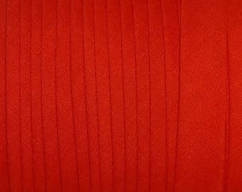 "10 yds RED 1/2"" SINGLE Fold  Bias Tape  Made in America"