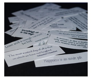 Stickers of Quotes, Inspiration and Thoughts