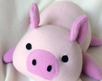 Adorbubble Pig PDF Sewing Pattern