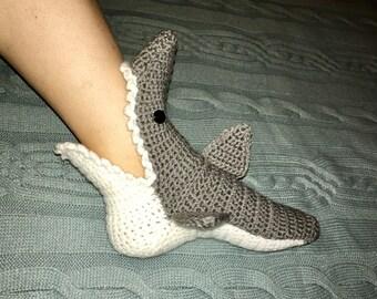 Shark Attack Socks