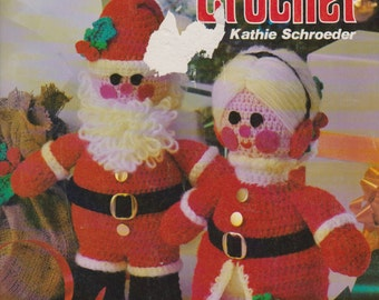 Christmas Crochet Volume 1, Mr. and Mrs. Claus Crochet patterns