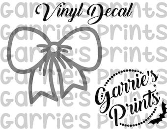 Vinyl Decals | Bow