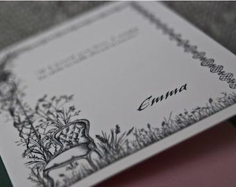 Emma, Jane Austen, A6 Greetings Card