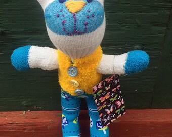 Chanukah Sock Doll