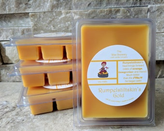 Rumpelstiltskin's Gold Scented Soy Melts- Citrus Scented Wax Melts