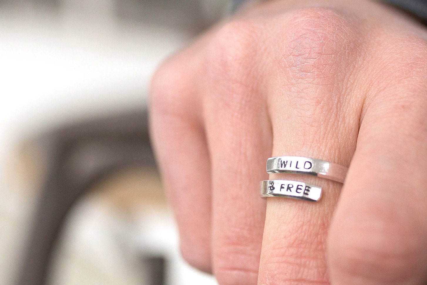 Wrap Ring Wild And Free Personalized Jewelry Wild And