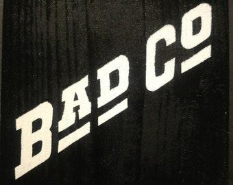 Bad Company Logo Block
