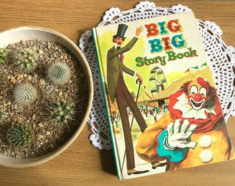 1960's Children's Story Book - 'The Big Big Story Book'
