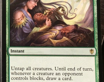 Benefactor's Draught, Limited edition MTG Artist proof, By Scott Murphy