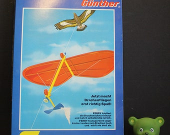 Rare Vintage Gunther Flugspiel Kite Ferry // Line Climber // New Old Stock // Original Box