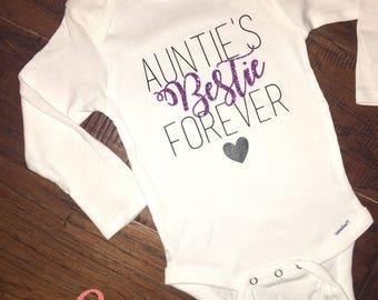 Auntie's Bestie Forever Onesie