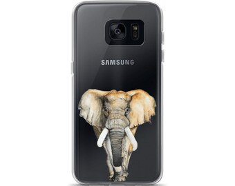 Samsung Case, Majestic African Elephant Phone Case
