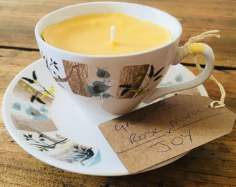 Aromatherapy Beeswax Candle