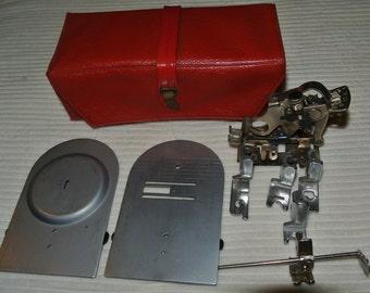 Singer 319K Vintage sewing machine attachments/Accessories