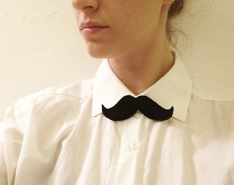 MUSTACHE AS BOWTIE... also for faces and hair.