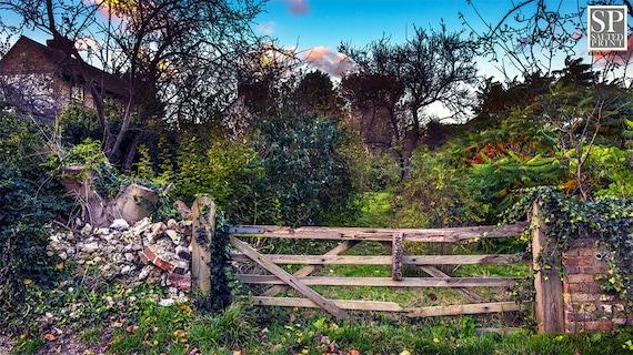 jardin anglais porte fond d u00e9cran t u00e9l u00e9chargement num u00e9rique