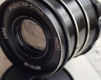 Lens Industar 61 L/D. Soviet Lens. M 39.Leica. FED