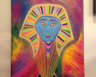 SALE HALF PRICE Holographic Egyptian Goddess