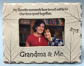 Grandma Frame Grandma Gift Grandma Picture Frame Grandma