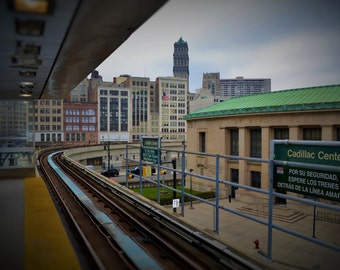 Cadillac Center, Detroit People Mover
