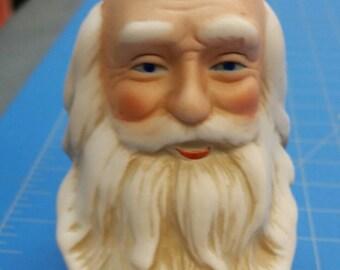 Porcelain Santa Head and Hands Mangelsen's 162-78 (001)