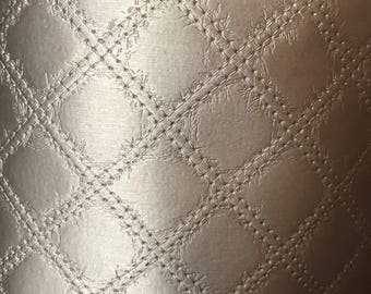 Hammered Bronze leatherette fabric