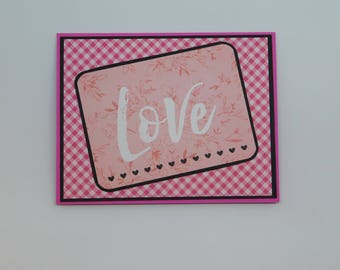 Valentine's Day Card.  Simply Love.
