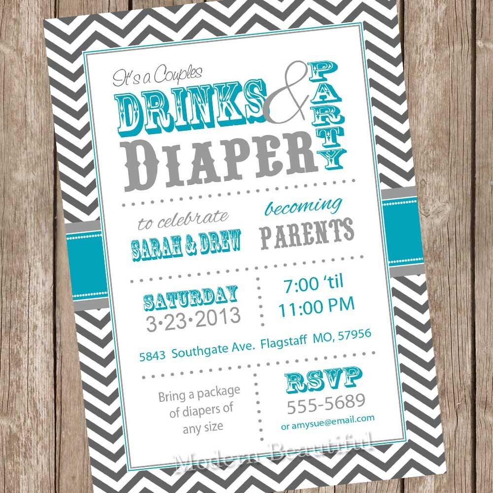 couples baby shower invitation coed baby shower invitation