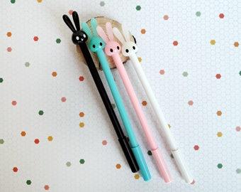 Bunny Pen | Black Gel Pen | Tip 0.5 mm