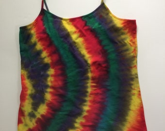 Time and Tru XL 16-18) Tie-Dyed Cami