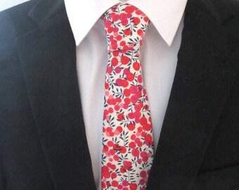 Men's Necktie - Tie - made in Liberty Print