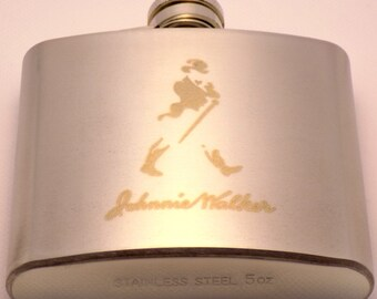 Stainless Steel Classic Pocket Flask Alcohol Whiskey Liquor Bottle 5 oz / 148 ml Perfect Gift