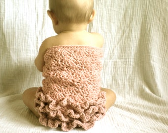 PATTERN:  Ruffle Romper, 3 SIZES, baby girl photo prop, Easy Crochet PDF, InStanT DowNLoaD, Permission to Sell