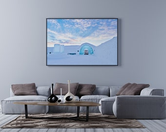 ICEHOTEL 2011 Photo Print, ICEHOTEL Photography Print, Arctic Photography Print