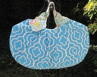 Retro Look Purse Large Handbag