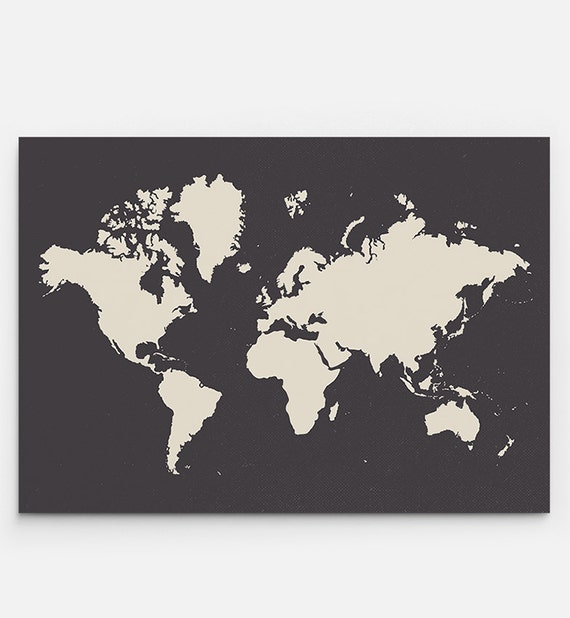 World map print printable file large world map poster large world map poster gumiabroncs Images