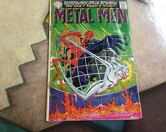 MetalMen no28 vol1 1967 Oct Nov DC Comics