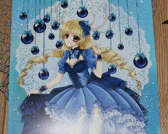 20 x 20 cm Art print Ice Princess by Jenny Liz