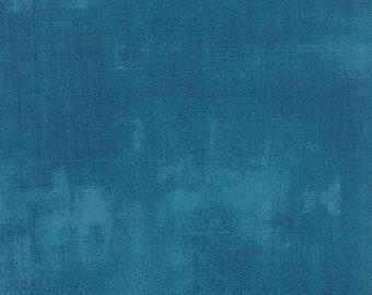 Grunge Basics - Grunge in Horizon Blue - Basic Grey for Moda Fabrics - 30150 306 - Half Yard