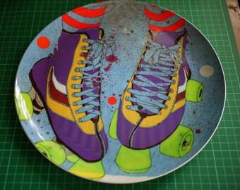 Rollerskate Plate