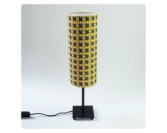 Cylinder lamp shade etsy cylinder lamp shade anise flower mozeypictures Image collections
