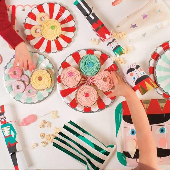 + $7.00 shipping  sc 1 st  Etsy Studio & Nutcracker Paper Plates Meri Meri Large Christmas Plates (8 ...