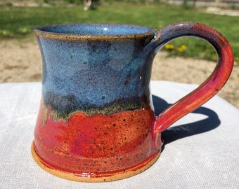 Blue/Pink coffee mug