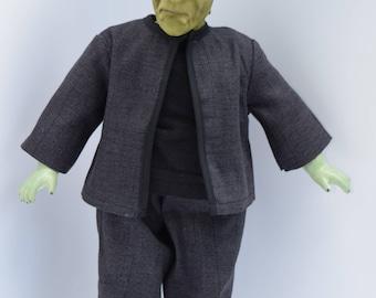 Handmade Horror Art Doll Frankenstein Monster Sculpted Classic Universal Scary