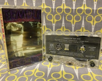 Temple of the Dog by Temple of the Dog Cassette Tape rock