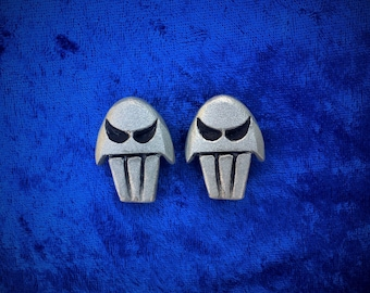 Hades Skull Earrings, Disneybound Accessory, Cosplay