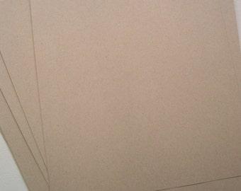 Light Kraft Text Weight Paper - 10 sheets