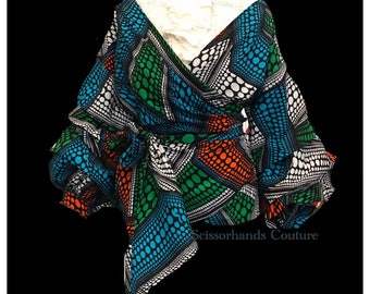 Oyinda Wrapped Blouse