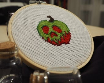 Poisoned Apple cross stitch