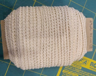 pre made size 10 romanian point lace cord cream